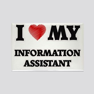 I love my Information Assistant Magnets