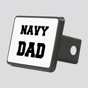 Navy Dad Hitch Cover