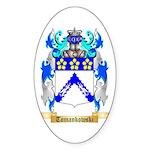 Tomankowski Sticker (Oval 50 pk)