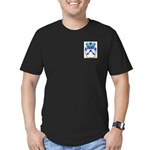 Toman Men's Fitted T-Shirt (dark)