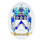 Toman Oval Ornament