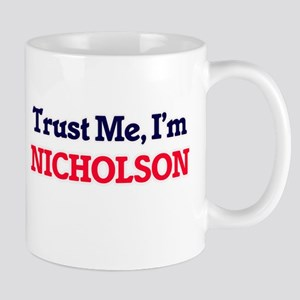 Trust Me, I'm Nicholson Mugs