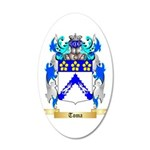 Toma 20x12 Oval Wall Decal