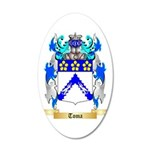 Toma 35x21 Oval Wall Decal