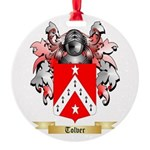 Tolver Round Ornament