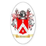 Tolver Sticker (Oval 10 pk)