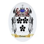 Tolson Oval Ornament