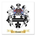 Tolotti Square Car Magnet 3