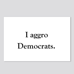 Democrat Aggro Postcards (Package of 8)