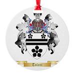 Toloni Round Ornament