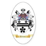 Toloni Sticker (Oval 50 pk)