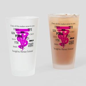 abbreviations Drinking Glass