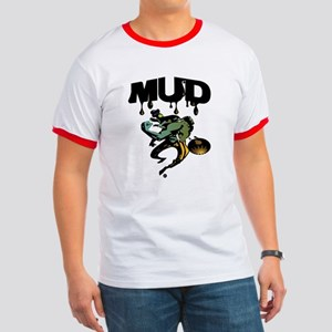 MUD Ringer T - back: Mighty Mudskippers (color)