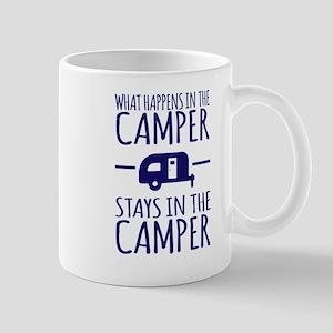 What Happens in Camper Stays in Camper Mugs