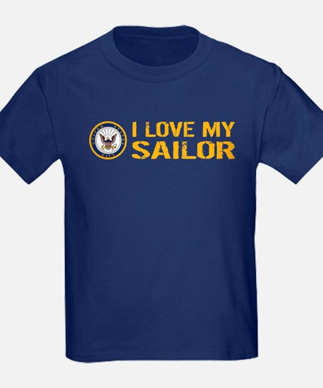 U.S. Navy: I Love My Sailor T-Shirt
