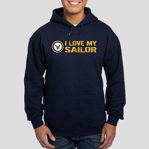 U.S. Navy: I Love My Sailor Hoodie