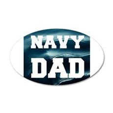 Navy Dad Wall Decal