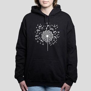 Oboe Music Dandelion Women's Hooded Sweatshirt