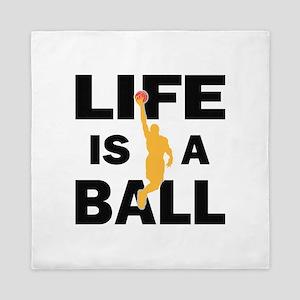 Basketball Life Queen Duvet