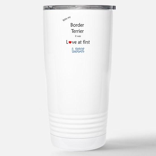 Border Terrier Lick Mugs