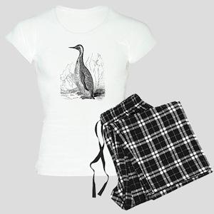Vintage King Penguin Bird Women's Light Pajamas