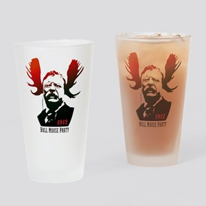 Bull Moose Party Drinking Glass