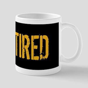 U.S. Navy: Retired (Black) Mug