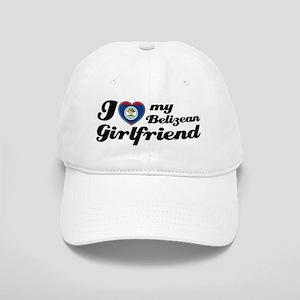 I love Belizean Girlfriend Cap