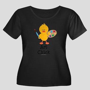 Art Chick Plus Size T-Shirt