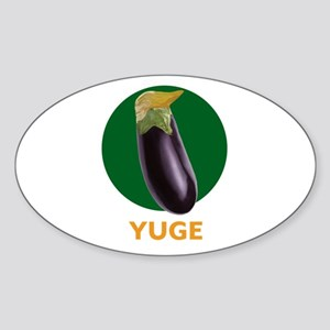 Yuge Trump Eggplant Sticker