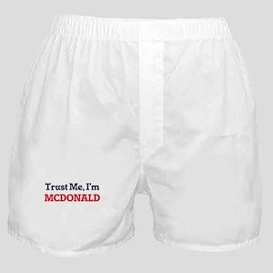Trust Me, I'm Mcdonald Boxer Shorts