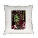 Jonathan Zombie Trading Card Everyday Pillow