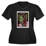 Jonathan Zombie Trading Card Plus Size T-Shirt