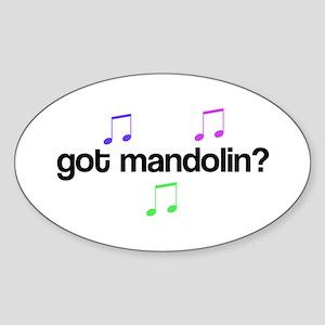 Got Mandolin music Sticker
