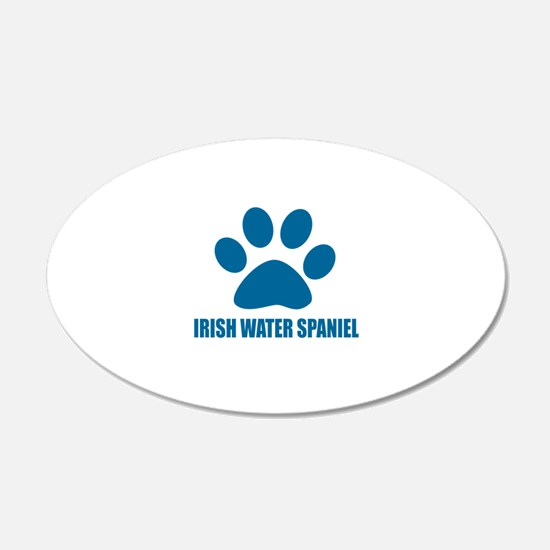 Irish Water spaniel Dog Love Wall Decal