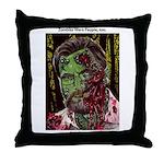 Jonathan Zombie Trading Card Throw Pillow