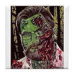 Jonathan Zombie Trading Card Tile Coaster