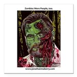 """Jonathan Zombie Trading Square Car Magnet 3"""""""
