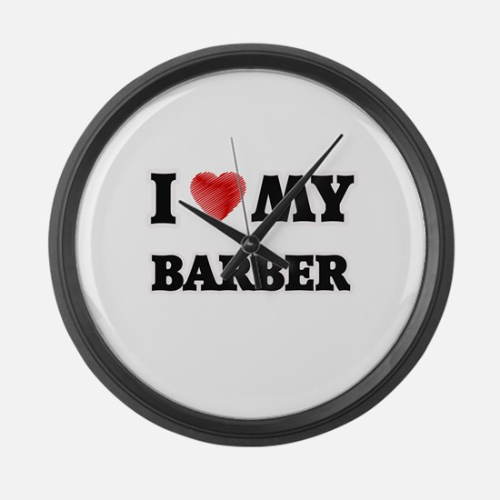 I love my Barber Large Wall Clock