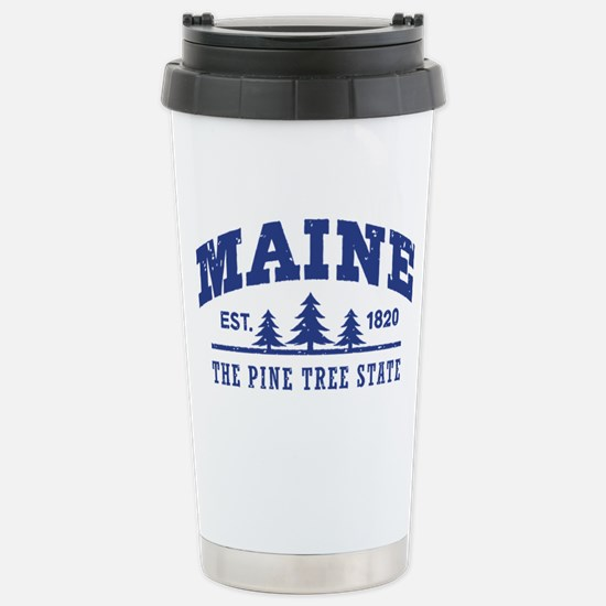 Maine Est. 1820 Stainless Steel Travel Mug