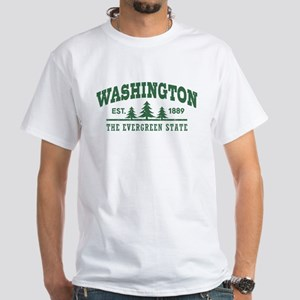 Washington White T-Shirt