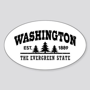 Washington Sticker (Oval)