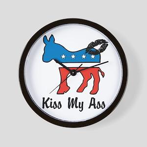 Kiss My ASS Wall Clock