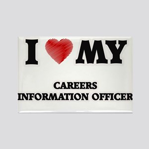 I love my Careers Information Officer Magnets