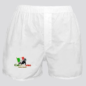 Cane Corso run Boxer Shorts
