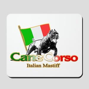 Cane Corso run Mousepad