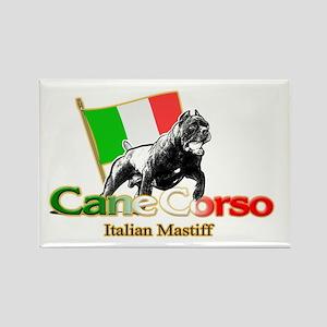 Cane Corso run Rectangle Magnet