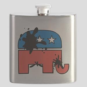 No Elephants Flask