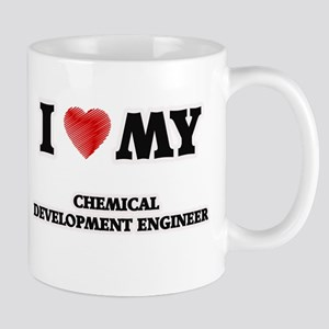 I love my Chemical Development Engineer Mugs