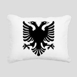 Shqipe - Double Headed G Rectangular Canvas Pillow